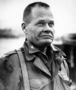 Marine Col Chesty Puller commanding the 1st Marines in Korea, Nov 22, 1950.