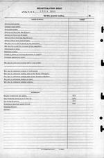 USS Luce final muster list dated June 19, 1945 after the ship was sunk May 4, 1945. Page 25 of 25.