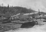 F4U-1 Corsair of Maj RG Owens USMC, Marine Squadron VMF-215 at the Munda Airstrip, New Georgia, Solomons, late 1943