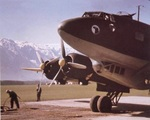 Focke-Wulf 200 Condor sitting on an airstrip, date and location unknown.