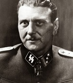 Portrait of Otto Skorzeny at the SS rank of Haupsturmführer, 1943