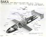 "United States intelligence schematic of the Japanese MXY7 Ohka ""Baka"" bomb published 10 May 1945, just five weeks after the weapon's discovery on Okinawa."