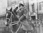 Georgy Zhukov in a parade, date unknown