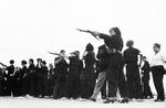Female Republican militia in rifle drills, Barcelona, Spain, 2 Jun 1937