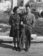 Hannah and György Szenes, Tel Aviv, Palestine, early 1944