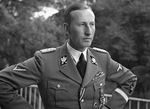 Reinhard Heydrich in Prague, Czechoslovakia, Sep 1941.