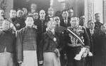 Chairman of the Nationalist Government Lin Sen with others, 25 Jan 1935