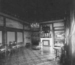 Interior of Kiri room, Imperial Palace, Tokyo, Japan, late 1800s