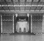 Interior of Throne Hall, Imperial Palace, Tokyo, Japan, late 1800s