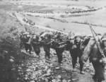 The Italian Alpine division advancing in Greece, Nov 1940