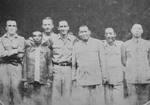 Dai Li with US and Chinese personnel, China, 1940s