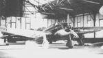 Royal Thai Air Force Ki-30 aircraft in a hangar, date unknown