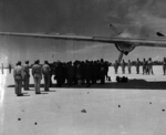 Japanese delegation stopped at Ryukyu Islands en route to Manila for surrender, 19 Aug 1945, 08 of 10