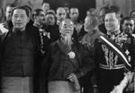 Wang Jingwei, Lin Sen, and Italian Ambassador to China Vincenzo Lojacono shortly after Lojacono had delivered his credentials, Nanjing, China, 25 Jan 1935