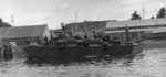 Higgins 78-foot torpedo boat PT-74 in Womens Bay, Kodiak, Alaska, 12 May 1944.