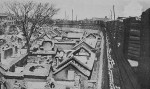 Damaged civilian homes, Jinan, Shandong Province, China, circa 4 May 1928, photo 5 of 8