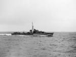 HMS Kelley underway, 1939-1941