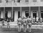 Lieutenant General Joseph Stilwell awarding medals, India, mid-1942