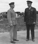 Lieutenant General Joseph Stilwell and Lieutenant General Jacob Devers, 31 May 1943