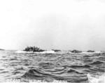 LVT vessels off Guam, 21 Jul 1944