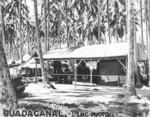 Captured Japanese ice plant, Guadalcanal, late 1942