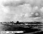 LVTs off Saipan, Mariana Islands, 15 Jun 1944