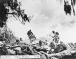 US Marines fighting on Saipan, Mariana Islands, Jun-Jul 1944
