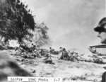 US Marines landing on Saipan, Mariana Islands, 15 Jun 1944