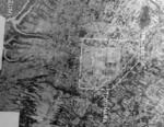 Aerial view of Toyohara Airfield, Taichu (now Taichung), Taiwan, 22 Nov 1943