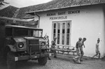 Canadian Ford CMP truck in post-war service as an ambulance in Poerworedjo, Java (now Purworejo), 1 Dec 1948.