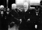 Zheng Xiaoxu with foreign dignitary, date unknown