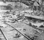 Destroyed South Station, Shanghai, China, 28 Aug 1937