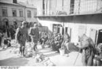 Two German soldiers in Lublin, Poland, May 1941