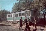 Tram car, Kiev, Ukraine, 1 Oct 1941