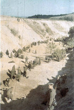 Babi Yar ravine, Kiev, Ukraine, 1 Oct 1941, photo 2 of 6