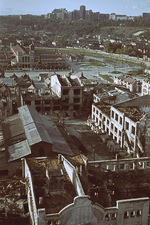 Destroyed buildings, Kharkov, Ukraine, Oct-Nov 1941