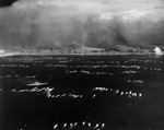 The first wave of landing craft at Iwo Jima, 19 Feb 1945, photo 6 of 6