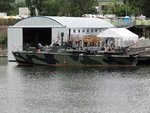 The former PT-658, a 78-foot Higgins boat, restored to factory fresh status by