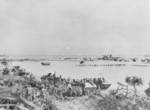 US Marines landing on Okinawa, Japan, 1 Apr 1945