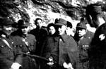 Bai Chongxi and other officers with Chiang Kaishek, date unknown
