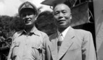 Bai Chongxi and Li Zongren, circa late 1940s
