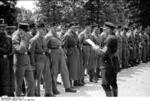 SS Guards, Dachau Concentration Camp, Germany, 24 May 1933