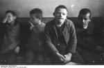 Children with Downs syndrome at Schönbrunn Psychiatric Hospital near Dachau, Germany, 16 Feb 1934