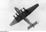 Ju 290V1 prototype aircraft in flight, mid-1942