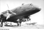 Ju 290 aircraft at rest, Grosseto, Toscana, Italy, Mar 1943