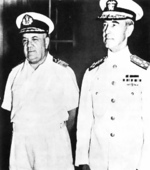 Conrad Helfrich and Thomas Hart, circa 1941-1942