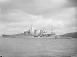 HMS Exeter at Devonport, Plymouth, England, United Kingdom, date unknown
