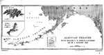 Map of installations in the Aleutian Island Area as of 1 Aug 1942, prepared for the United States Navy Office of Naval Intelligence Combat Narrative report. Note that Attu and Kiska were listed as Japanese held.