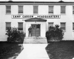 Camp Carson headquarters building, Colorado, United States, 1950s