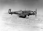 Wellesley Mark I (L2673 KU-C) of No. 47 Squadron RAF based at Agordat, Eritrea in flight, Feb-Mar 1941